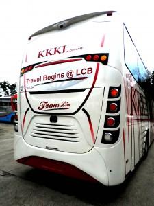 Bus from Singapore to Melaka