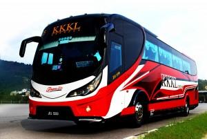 Bus from Singapore to Kuala Lumpur